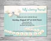 Bridal Shower Invitation. Great for Bridal Showers, Engagement / Wedding Invites.