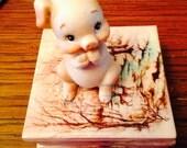 Lefton Pig piggy figurine