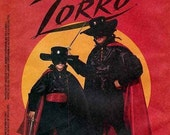 McCall's Pattern 6689 Child Sz 5-6 ZORRO Halloween Costume 1993 Ships Free in U.S. Out of Print Factory Folded