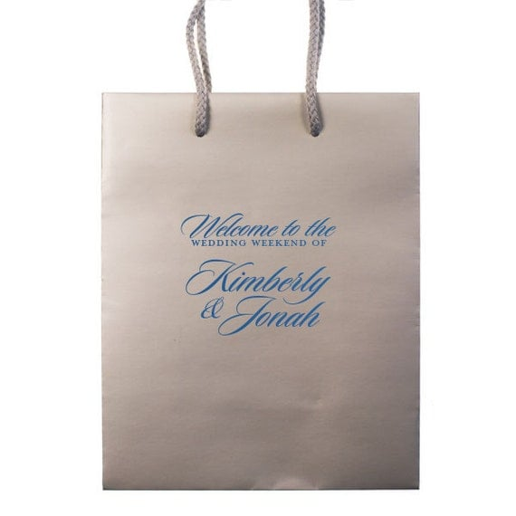 Personalized Wedding Gift Bags For Guests : favorite favorited like this item add it to your favorites to revisit ...