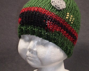 Baby Fett: Baby Star Wars Inspired Boba Fett Knit Hat