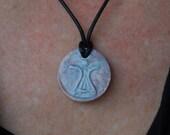 Handmade Ceramic Goddess Necklace