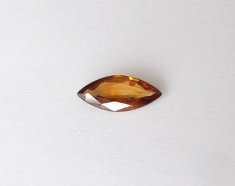 Natural Golden Yellow Zircon, Unheated, Marquise Cut, 1.92 carat