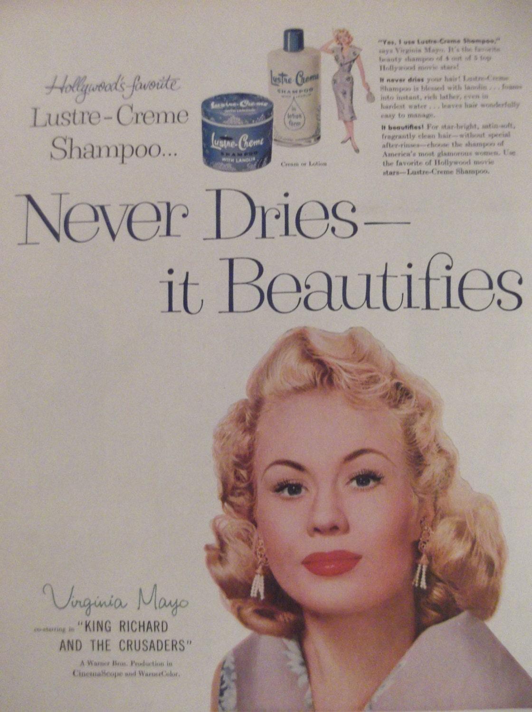 Lustre creme shampoo virginia mayo original vintage for Lustre original