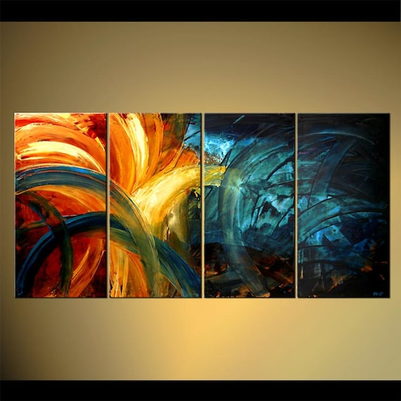 original contemporary abstract painting original large