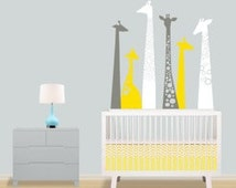 Giraffe Wall Decal - BRAND NEW! - Jungle Wall Decal - Giraffe Decal for Baby