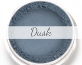 "Eyeshadow Sample - ""Dusk"" - Matte Blue Grey Vegan Mineral Eyeshadow Net Wt .4g Mineral Makeup Pigment"