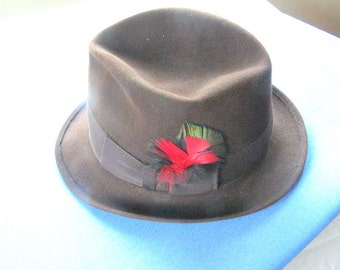 London fedora hat