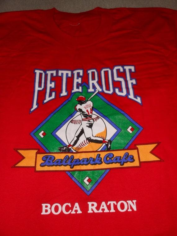 Pete Rose Shirt Pete Rose Cafe t Shirt Boca