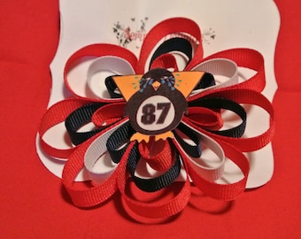 NHL Crysby Hair Clip!  Crying Penguin - Anti Crosby - Can Be Made In Any Teams Colors!