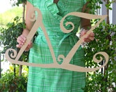 Large Go Greek!™ Sorority Wooden Letters Copyright Southern Nest 2014
