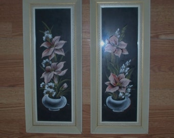 Franklin Pictures #9969 Flowers Vintage
