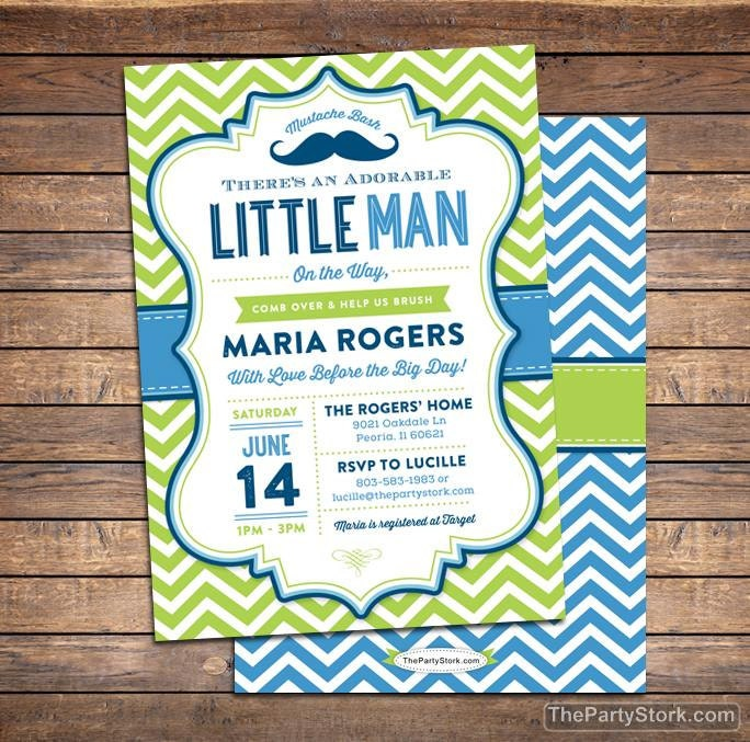 It is a photo of Canny Free Printable Mustache Baby Shower Invitations