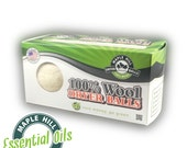2 Essential Oil Scented Wool Dryer Balls