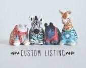 Reserved* Custom order for CV