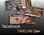 HOLLIDAYS - 3 Facebook Timeline Covers, Social media banner, Facebook banner, Header, FB cover - Personal & Business Use Blog Banner