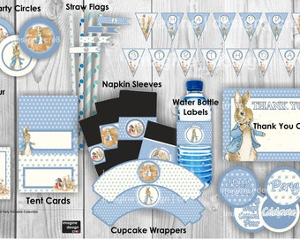 CLASSIC PETER RABBIT Party Printables