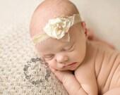 Rosalind, Cream Flower Tie Back