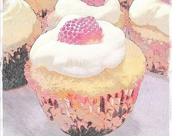 5x5 Summer of Cupcakes1 Photo Print