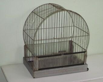 Vintage Hendryx Bird Cage