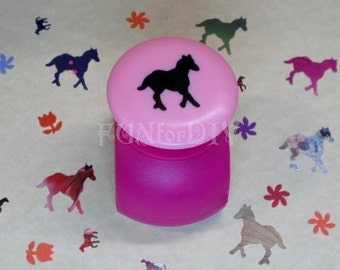 20x18mm large size paper punch -- horse