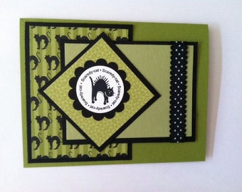 Stampin' UP! Scaredy Cat Card Kit