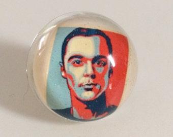 Sheldon Cooper Ring - Big Bang Theory - Sheldon - Geek Ring - Sheldon Cooper - Sheldon - Big Bang Theory Ring - Jewelry - Ring - Bazinga