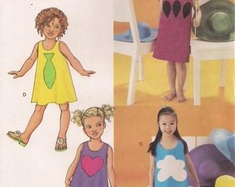 Butterick Sewing Pattern 3478 - Children's Dress (2-5, 6-8)