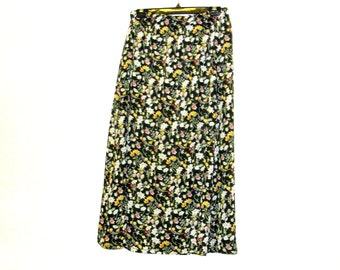 Floral Skirts, Long Skirts, Maxi Skirts, Womens Skirts, Skirts, Retro Skirts, 1970s Skirts, By Rebeccas Clothes