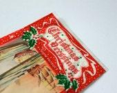 Vintage Christmas gift tags in original packaging 1950's