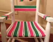 Hand painted children's Rocking Chair