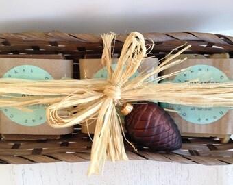 Homemade Soap Gift Set - BEER SOAP SET - soap gift set - soap - beer gift basket - beer soap