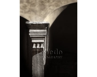 Italy Column Photo, Florence, Italy, Vasari Corridor, Ponte Vecchio, Architecture Photo, Gift for Him, Masculine