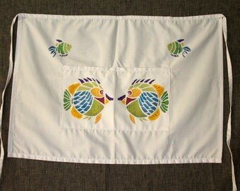 Fun Fish Half Apron