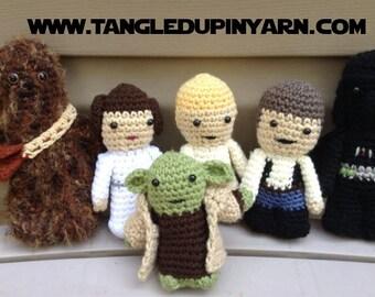 Star Wars Amigurumi Dolls SET OF 6