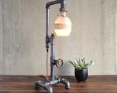 Blanton's Bourbon Lamp - Bottle Lamp - Industrial Style - Man Cave