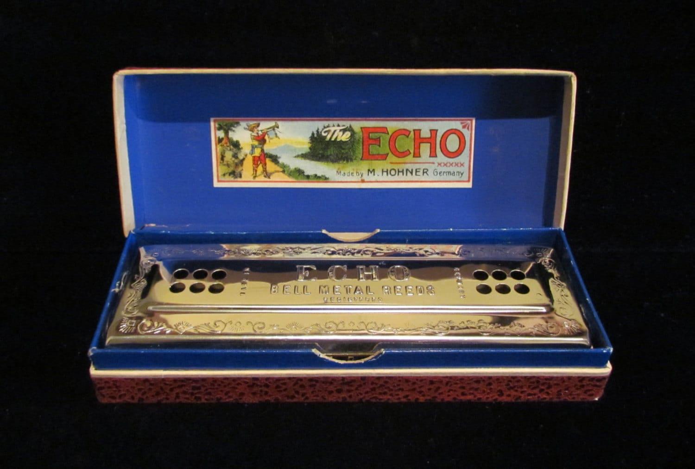 1930s Vintage M. Hohner Echo Harp Harmonica by ...