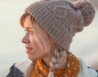 PDF pattern for knitting Elfi hat