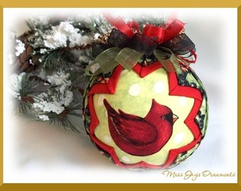 Picture Perfect Quilted Ornament Do It Yourself PDF Tutorial