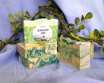 Emerald Isle Goat Milk Soap Bar Vegetarian