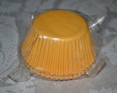 50 Squah Yellow Standard Cupcake Party Liners/Cupcake Liner/Cupcake Liners/Yellow Cupcake Liners