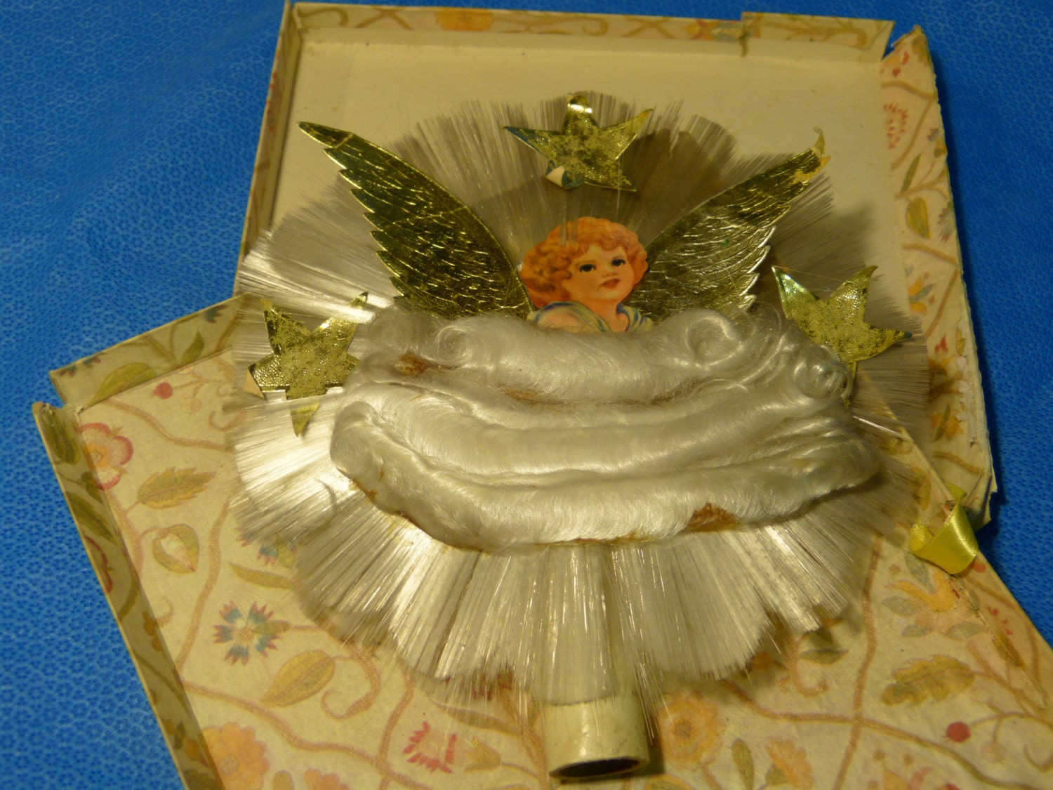 Christmas Angel Tree Topper Vintage