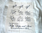 Message Printed Fabrics for Quilting or Sewing