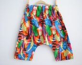 SALE - Toddler - Ninja Pants - Feathers