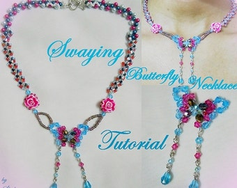 Swaying Butterfly Necklace Tutorial