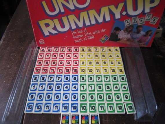 uno rummy up instructions