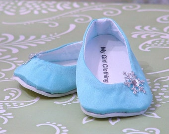 Elsa's Shoes for American Girl