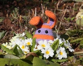 RESERVED for elmoute94 - Crocheted rabbit - Ready to ship