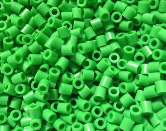 Perler Beads for Sale - Green (Bright Green)  (080)