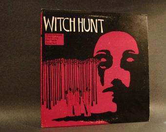vinyl album, 'witch hunt', by aebersold, craig, haerle & reid from 1975